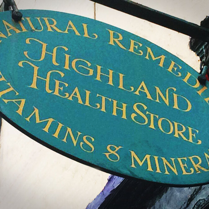 Highland Heath Store Natural Remedies & Wholefoods local shops banner