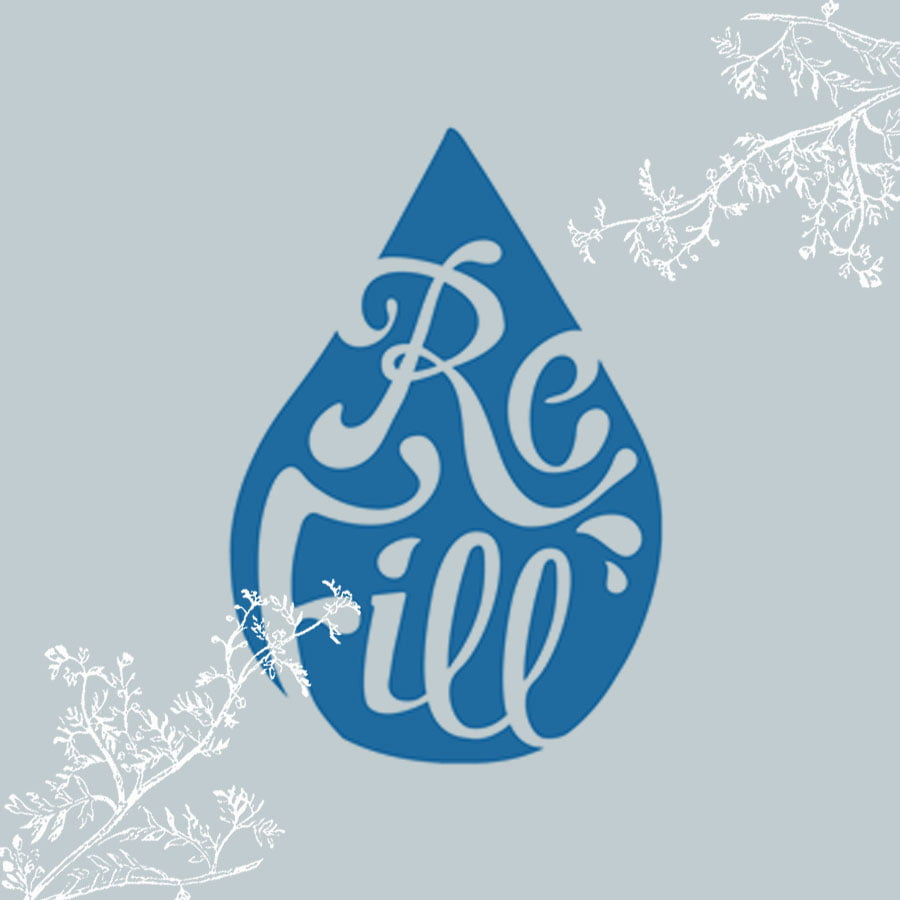 Free Water Refill picture - Highland Health Store has one of the water refill station available part of their green policy