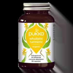 Pukka Wholistic Turmeric - 60 capsules